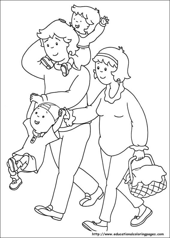 free printable coloring pages for. printable caillou coloring pages, watch videos online, father#39;s day free