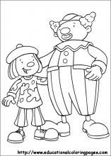 JoJo Circus Coloring Pages for Kids. Free Online Printable Pictures