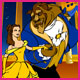 Beauty and Beast Coloring