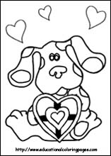 Blues Clues Coloring on Coloring Pages For Kids Blues Clues Coloring Pages